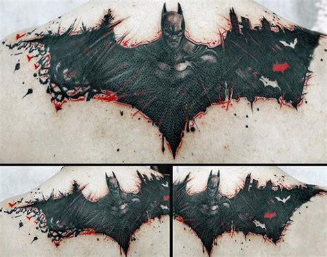 batman tattoo transfers 50 batman symbol tattoo designs for men superhero ink ideas