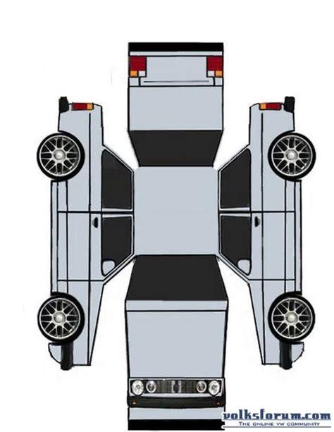 Papercraft Car Templates - car paper crafts