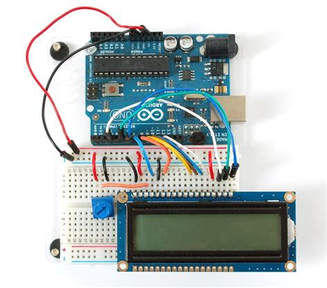 tutorial arduino adafruit updated arduino tutorial connecting a parallel lcd