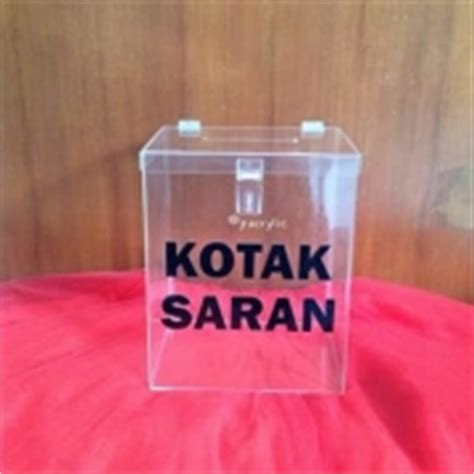 Kotak Saran Acrylik jaya raya advertising acrylic display cigarettes display