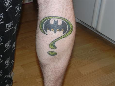 riddler tattoo 59 best tattoos images on tatoos