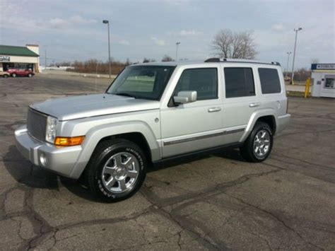 2009 Jeep Commander Sport Find Used 2009 Jeep Commander Limited Sport Utility 4 Door