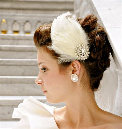 Wedding Hair Accessories With Feathers by 6 Wedding Hair Accessories Bethany Lorelle Feather