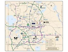 discount florida car hire orlando toll road guide map