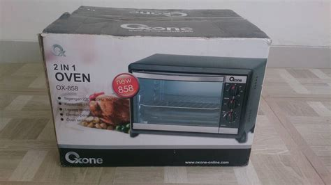 Oven Oxone Ox 899rc oven 2in1 oxone pemanggang elektrik toaster 18l ox 858 bbq