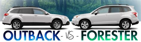 Compare Subaru Forester And Outback by Compare Forester Vs Outback 2014 Html Autos Post