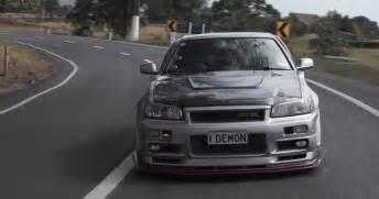 Nissan Skyline Gtr Horsepower Test Driving A 1 000 Hp R34 Nissan Skyline Gt R Is