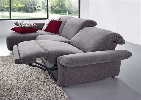 ottomane mit relaxfunktion sofa quot quot mit ottomane und optionaler relaxfunktion