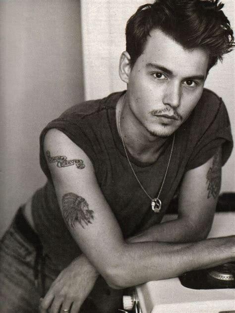johnny depp ellen tattoo johnny depp muses cinematic men the red list