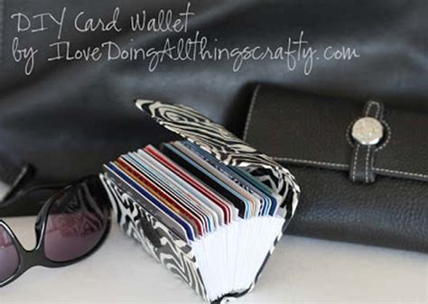 make your own credit card holder 25 duct diy projects that you can make at home