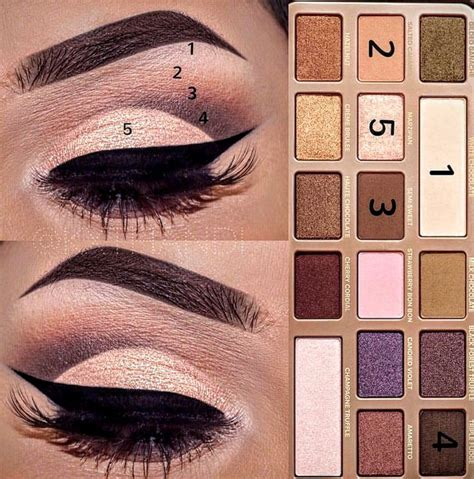 eyeshadow tutorial using too faced best ideas for makeup tutorials too faced chocolate bar