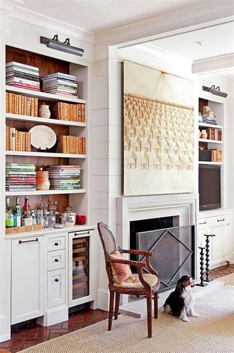Built In Bar Area Fireplace Decor Mcgrath Ii
