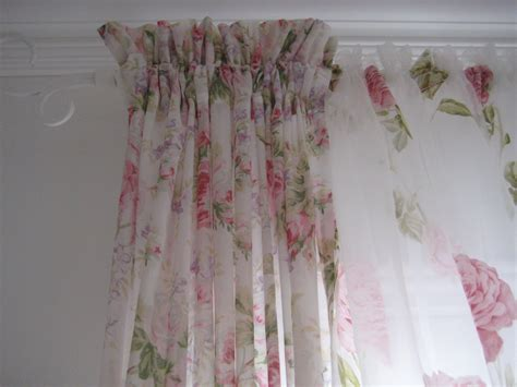 shabby chic drapes curtains