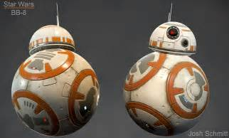 How To Make Texture Painting - star wars fan art bb8 polycount