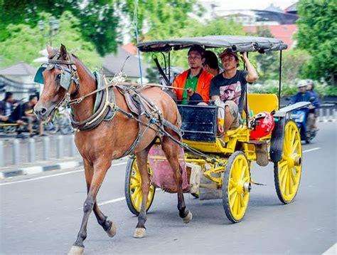 Sho Kuda Di Jogja berkeliling kota yogyakarta menggunakan andong andong