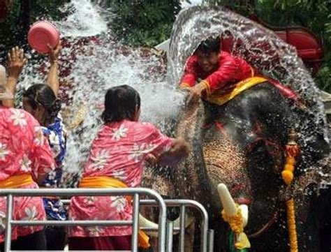 songkran water festival of thailand