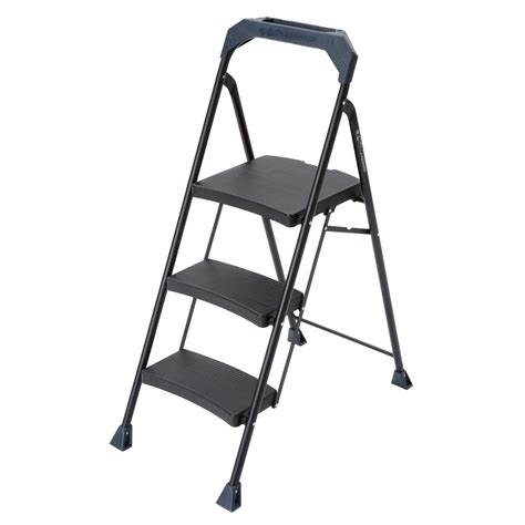 step stool gorilla ladders 3 step steel step stool with 250 lb load capacity type i duty rating