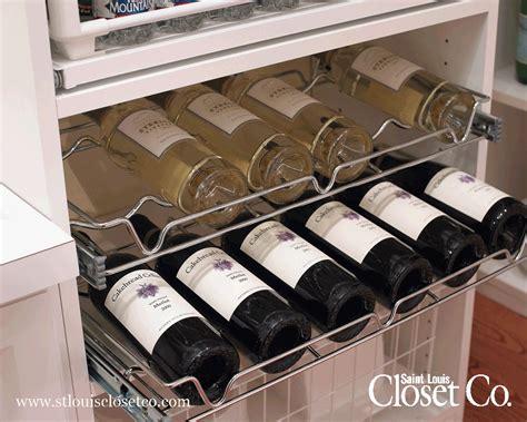 Closet Wine Rack by Wine Racks Louis Closet Co