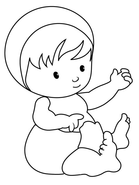 color of baby free printable baby coloring pages for