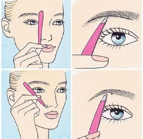 12 Tips On How To Pluck Your Eyebrows by How To Shape Your Eyebrows Step By Step Guide Eyebrow