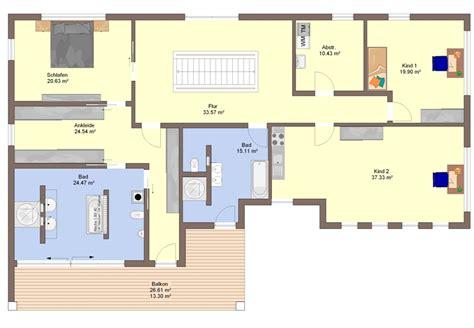 Schlafzimmer Mit Ankleide Grundriss by Fertighaus B 252 Denbender Haus Calando