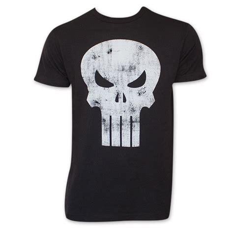 T Shirt Punisher Logo black distressed punisher skull logo t shirt