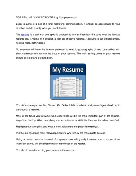 writing a cv resume tips top recume cv writing tips model resumes free