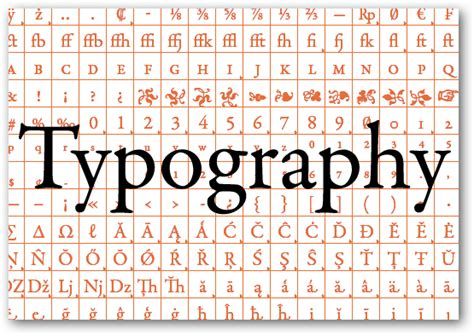 typography glyph how to understand typography like a professional designer