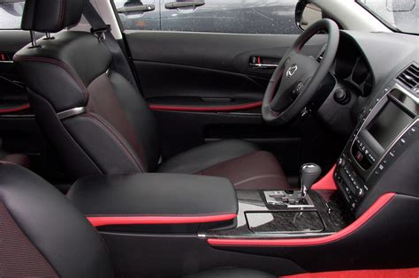 black lexus interior poll would you option out an isx50 with isf interior