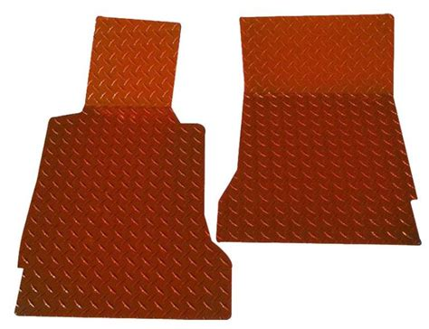 Painted Floor Mats by C6 Corvette 2005 2013 Plate Floor Mats Painted