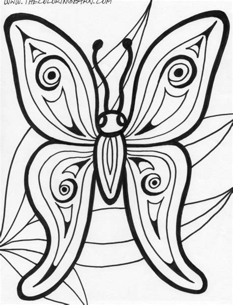 butterfly coloring page pdf rainforest animals coloring pages butterfly the coloring