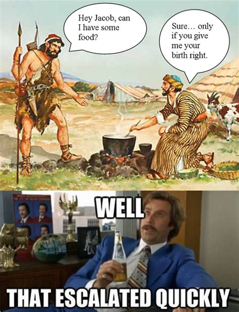 Biblical Memes - anglican humour on twitter quot jacob and esau that