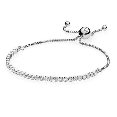 pandora silver drops bracelet 590524cz the hut