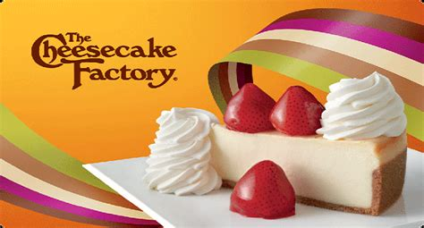 Cheesecake Factory Email Gift Card - 25 cheesecake factory gift card giveaway joe