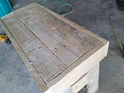 cost of a bench mini pallet wood bench