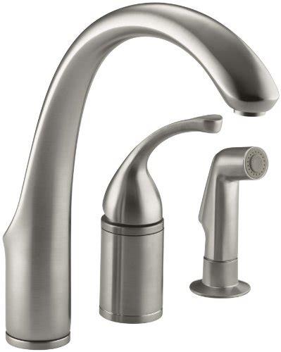 single control kitchen faucet single handle kitchen kohler forte single control remote valve kitchen sink