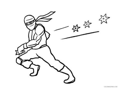 coloring pages of ninja stars ninja coloring pages with katana coloring4free