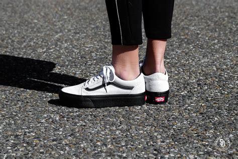 Sepatu Vans Authentic Port Royale Green Vans Skool Vans Collab vans skool platform suede blanc de blanc black vnoa3b3uoip
