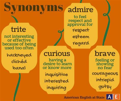 it s time for synonym sunday check out these four words