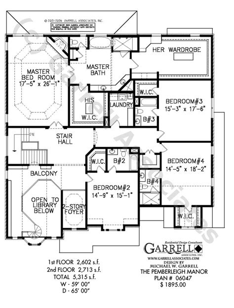 manor house plans pemberleigh manor house plan garrell associates inc