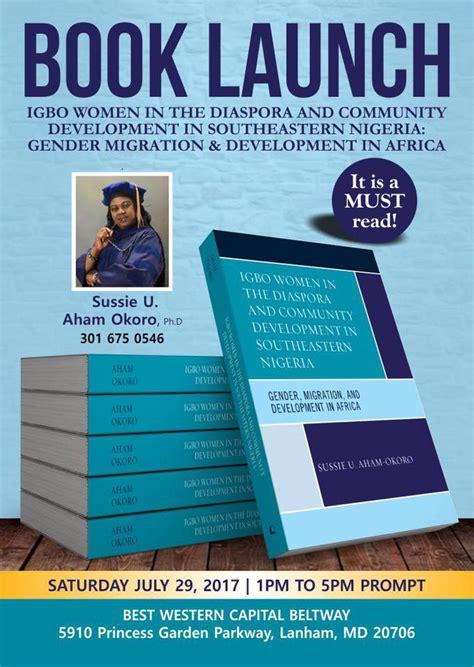 Calendar Howard Book Launch Igbo In The Diaspora And Community