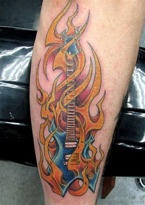 cool music tattoos 63 cool tattoos for leg