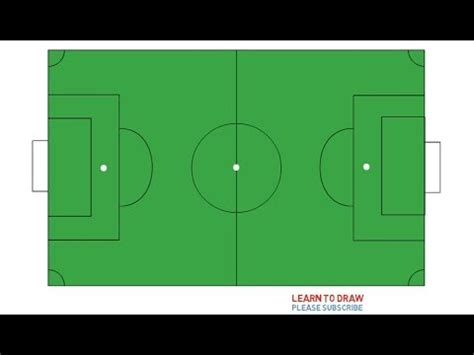How To Draw Soccer Field