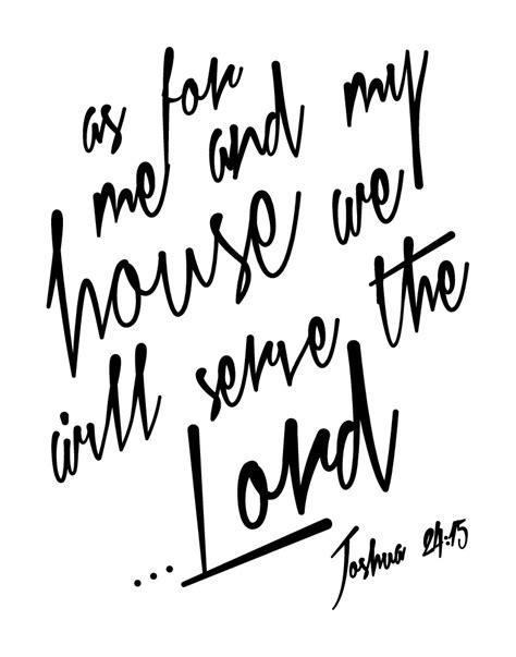 as for me and my house verse as for me and my house we will serve the lord joshua 24 15 seeds of faith