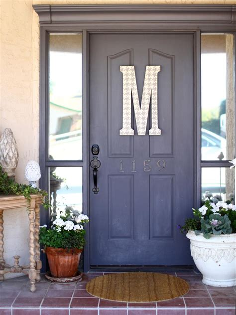 popular colors  paint  entry door diy