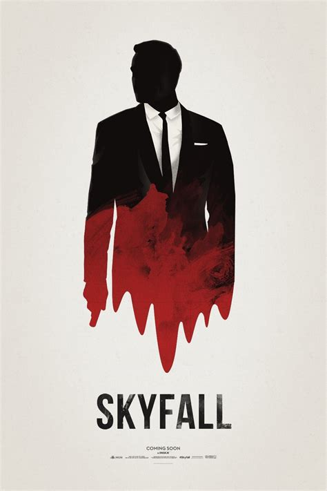 film james bond kumpulan skyfall poster by hvejsel on deviantart