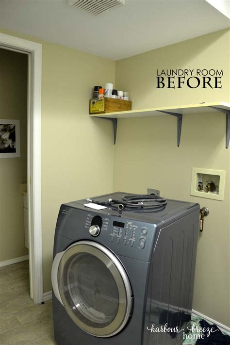 small laundry room decor small laundry room reveal harbour home