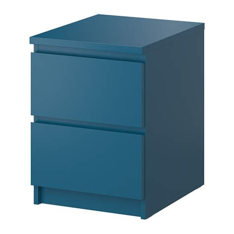 Malm Ikea Nightstand Malm Chest With 2 Drawers Turquoise 15 7 8x21 5 8 Quot Ikea