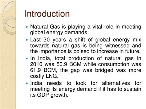 Mba In And Gas In India by Lng Supply Chain Energy Forecasting