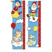 noddy wall stickers height chart height chart growth chart wall chart
